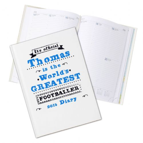 Personalised Its official Hardback 2015 Diary